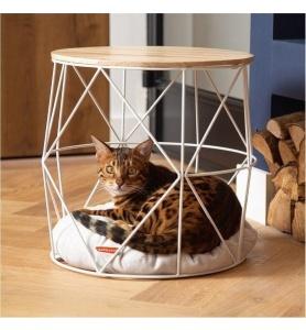 Beeztees kattenmand meubel kuja metaal wit