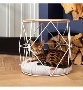 Beeztees kattenmand meubel kuja metaal zwart
