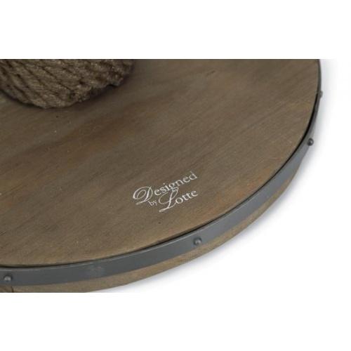 Designed by lotte krabpaal lumpra hout donkerbruin 1