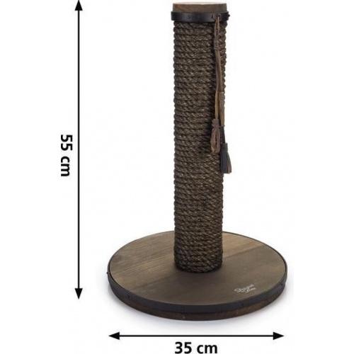 Designed by lotte krabpaal lumpra hout donkerbruin 2