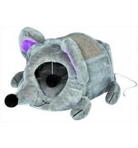 Trixie kattenmand lukas muis grijs taupe