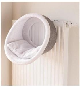 Trixie radiator hangmat iglo wit grijs
